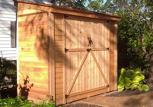 Space Saver 8'x4′ Double Door Shed - World of Greenhouses - 1
