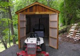 Space Maker 8'x12'  Storage Shed With Window - World of Greenhouses - 3