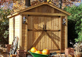 Space Maker 8'x12'  Storage Shed With Window - World of Greenhouses - 1