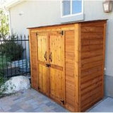 Grand Garden Chalet Shed 6'x3' - World of Greenhouses - 6