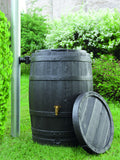Graf Whiskey Barrel VINO style rain barrel with fast flow tap - World of Greenhouses - 5