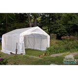 Heavy duty steel frame 12' Instant Rhino Greenhouse by MDM - World of Greenhouses - 4