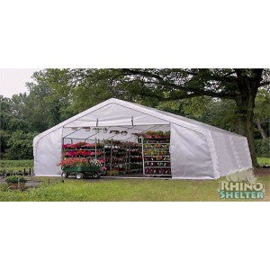 Huge Extra Heavy Duty 22' x 24' Instant Greenhouse - World of Greenhouses
