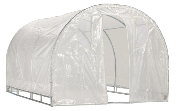 Weatherguard round top greenhouse By Jewett Cameron - World of Greenhouses - 4