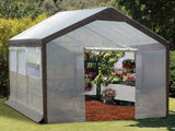 Spring Gardner Gable Greenhouse By Jewett Cameron - World of Greenhouses - 1