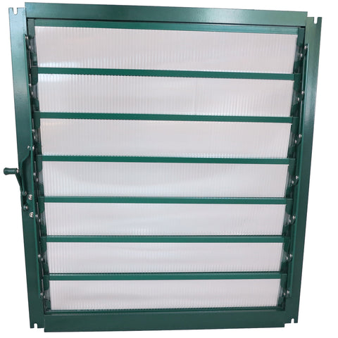 Grandio Greenhouse Wall Louver Window