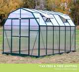 Grandio Elite 8 Foot x 8-24 Foot Greenhouse Kit - World of Greenhouses - 9