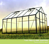 Grandio Ascent 8 Foot x 8-24 Foot Greenhouse Kit - World of Greenhouses - 7
