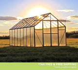 Grandio Ascent 8 Foot x 8-24 Foot Greenhouse Kit - World of Greenhouses - 8