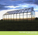 Grandio Ascent 8 Foot x 8-24 Foot Greenhouse Kit - World of Greenhouses - 9