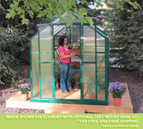 Grandio Element 6 Foot all year Greenhouse Kit - World of Greenhouses - 2