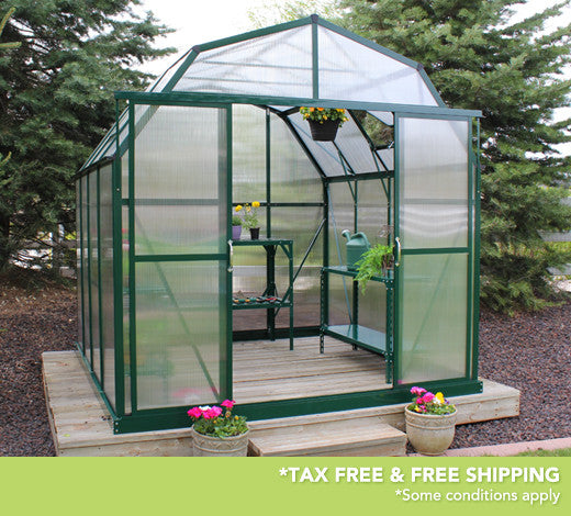 Grandio Elite 8 Foot x 8-24 Foot Greenhouse Kit - World of Greenhouses - 7