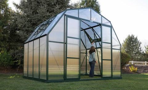 Grandio Summit 12 Foot Wide Greenhouse Kit
