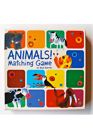Animals! Matching Game Set.