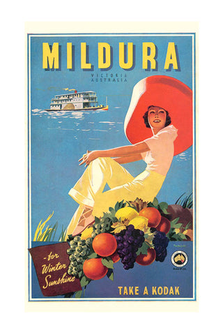 Mildura Poster - James Northfield - Vic Railways