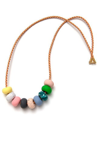 Emily Green -  Julia Rose - Nine bead necklace