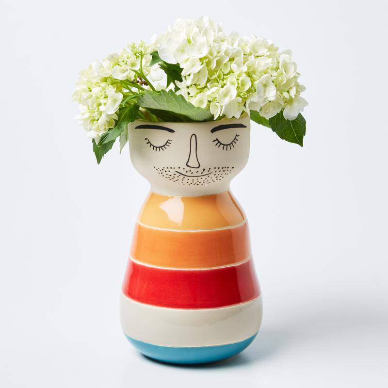 Jones & co - Bay face vase