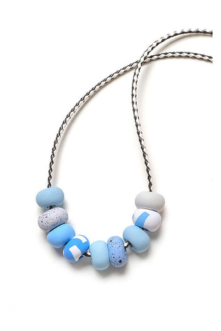 Emily Green -  Dot Dash - Nine bead necklace