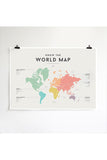 We Are Squared - Chart - World Map