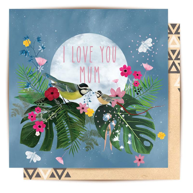 La La Land - I Love You Mum card