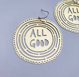 Denz - All Good Gold dangles