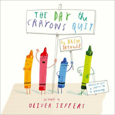 The Day The Crayons Quit - Board Book