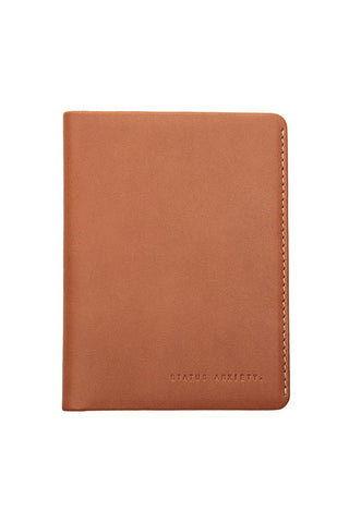 Status Anxiety - Conquest Passport Holder - Camel