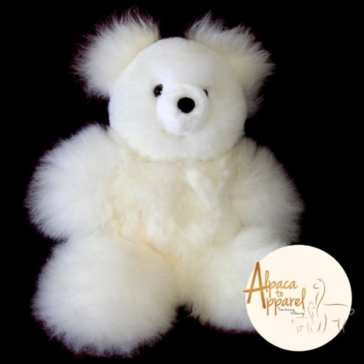 baby alpaca teddy bear by alpaca to apparel