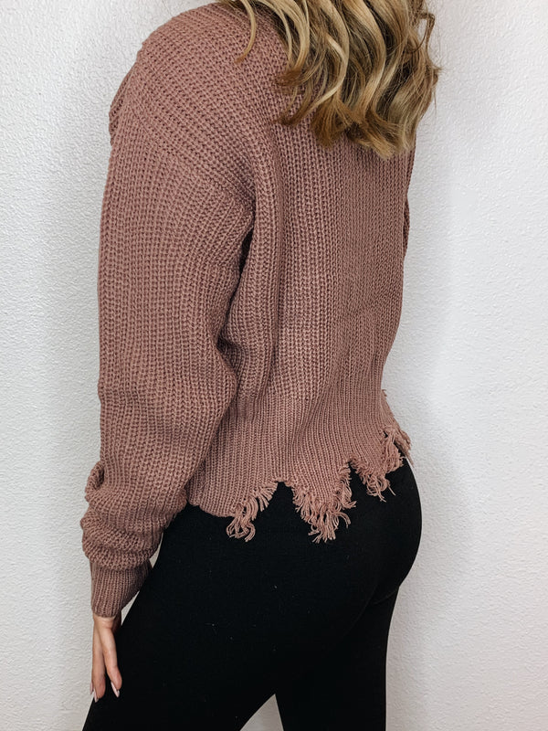 Sugar and Spice Knit Top