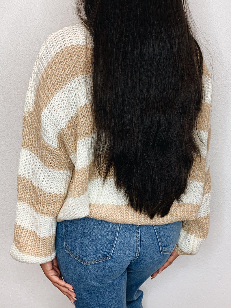 Macchiato Long Sleeve Knit