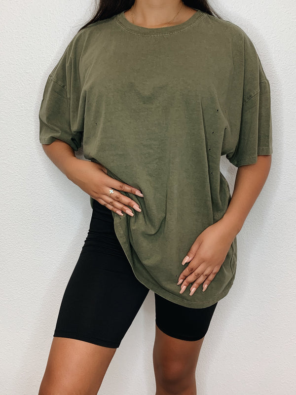 Wild About Your Oversized Tee