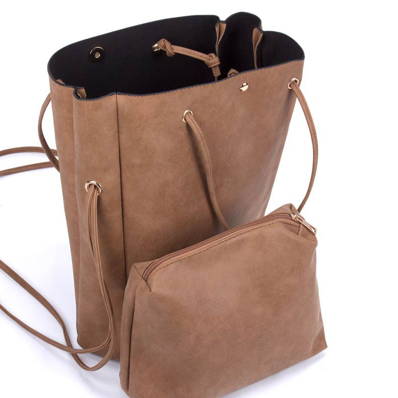 Versatile Brown Tote Bag
