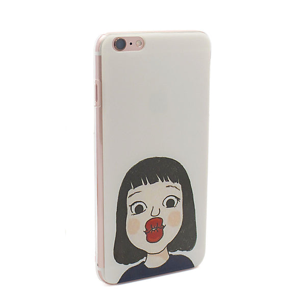Pucker Up, Girl iPhone 6 & 6plus Case
