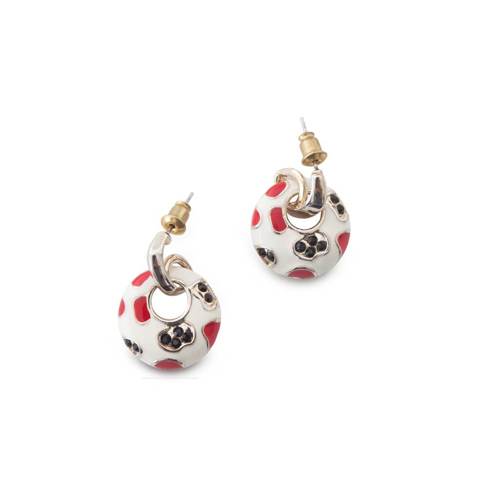 Round-Shaped Statement Earrings