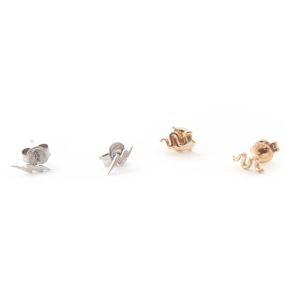Tiny 2 Pack Stud Earrings