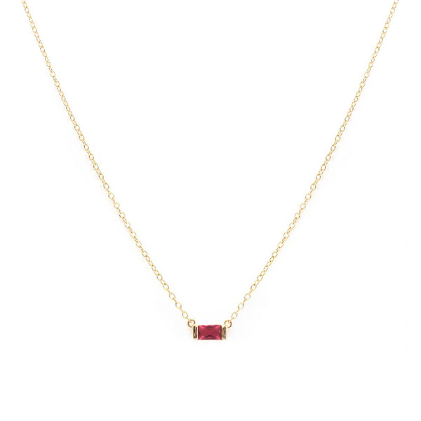 Red Pendant Necklaces