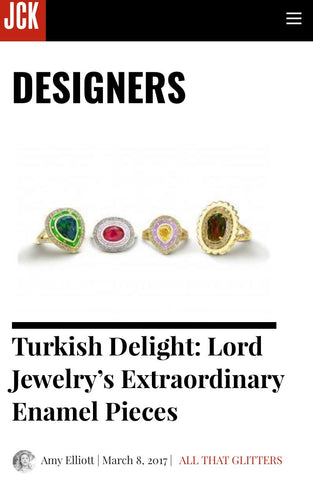 JCK Features Lord Jewelry