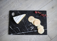 Load image into Gallery viewer, MARBLE CHEESE BOARD | Black