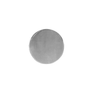 CIRCLE COASTERS | Nickel | Set of 4