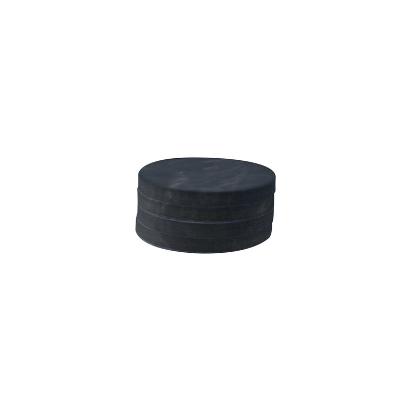 CIRCLE MARBLE COASTERS | Black | Set of 4