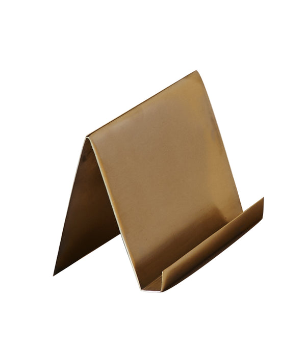 BUSINESS CARD HOLDER | Brass
