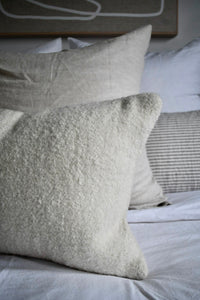ALPACA BOUCLE CUSHION | Natural