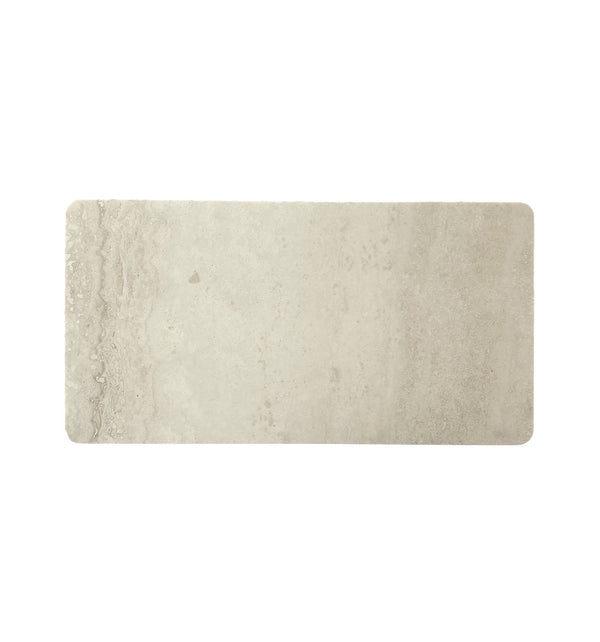 RECTANGLE STONE TRAY | Travertine