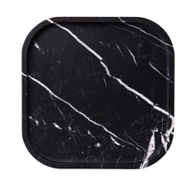 Load image into Gallery viewer, MARBLE SQUIRCLE TRAY | Nero Marquina