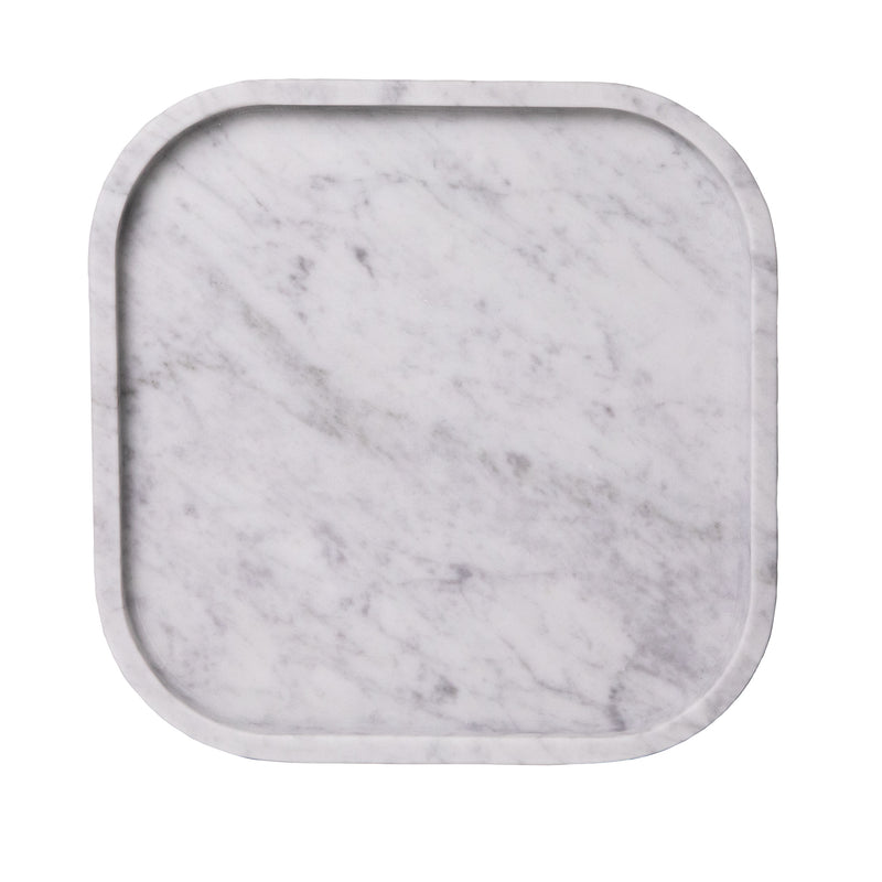 MARBLE SQUIRCLE TRAY | Carrara
