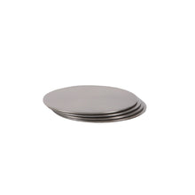 Load image into Gallery viewer, CIRCLE COASTERS | Black Nickel | Set of 4