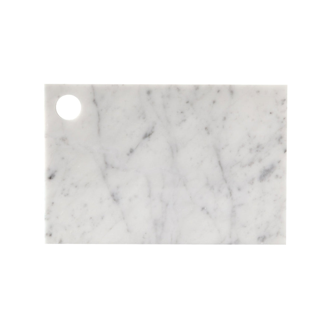 MARBLE CHEESE BOARD | White
