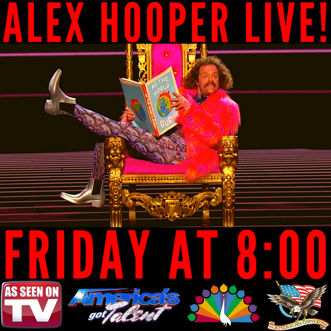 Happy Hour Show Starring AGT's Alex Hooper LIVE! [FRI]