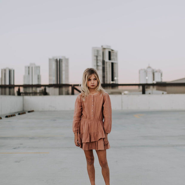 Long Sleeve BOHO Blush