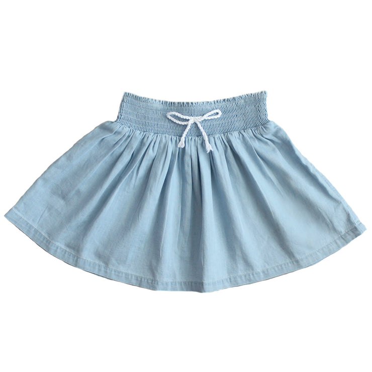 Skirt - Wash Denim